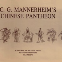 C. G. Mannerheim's Chinese Pantheon. Materials for an Iconography of Chinese Folk Religion