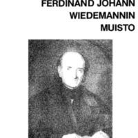 Ferdinand Johann Wiedemannin muisto