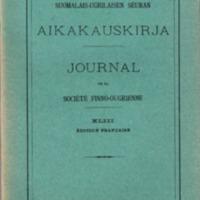 Journal de la Société Finno-Ougrienne 43 (Édition française)