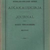 Journal de la Société Finno-Ougrienne 48