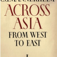 Across Asia from West to East in 1906–1908. I
