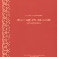 Marin kielen lukemisto sanastoineen
