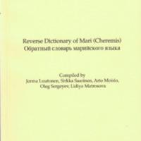 Reverse Dictionary of Mari (Cheremis)