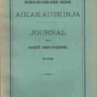 Journal de la Société Finno-Ougrienne 49