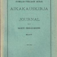 Journal de la Société Finno-Ougrienne 44