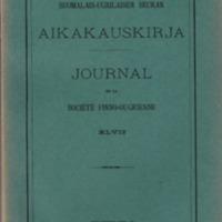 Journal de la Société Finno-Ougrienne 47