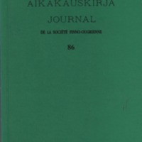 Journal de la Société Finno-Ougrienne 86