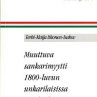 Folia Hungarica 9 – Muuttuva sankarimyytti 1800-luvun unkarilaisissa maalauksissa