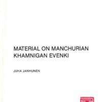 Material on Manchurian Khamnigan Evenki