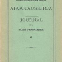 Journal de la Société Finno-Ougrienne 69