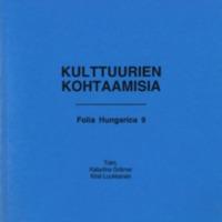 Folia Hungarica 9 – Kulttuurien kohtaamisia