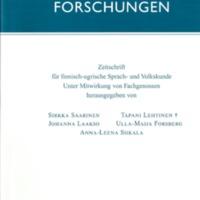 Finnisch-Ugrische Forschungen 62