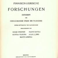 Finnisch-Ugrische Forschungen 36