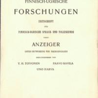 Finnisch-Ugrische Forschungen 24