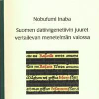 Suomen datiivigenetiivin juuret vertailevan menetelmän valossa (SUST 272)
