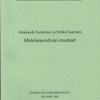 Mokšamordvan murteet (SUST 249)