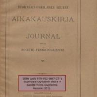 Journal de la Société Finno-Ougrienne 5