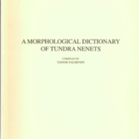 A morphological dictionary of Tundra Nenets