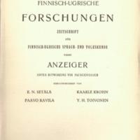 Finnisch-Ugrische Forschungen 21