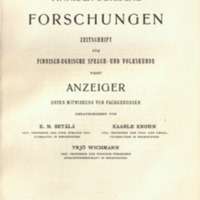 Finnisch-Ugrische Forschungen 16