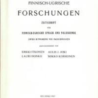 Finnisch-Ugrische Forschungen 45
