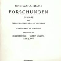 Finnisch-Ugrische Forschungen 42