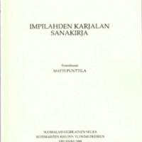 Impilahden karjalan sanakirja