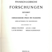Finnisch-Ugrische Forschungen 46
