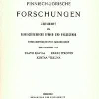 Finnisch-Ugrische Forschungen 34