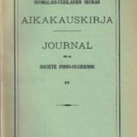 Suomalais-Ugrilaisen Seuran Aikakauskirja 59