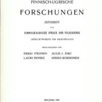 Finnisch-Ugrische Forschungen 47