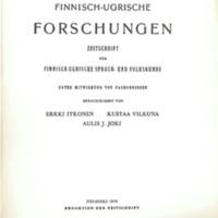 Finnisch-Ugrische Forschungen 43