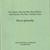 Erzya prosody (SUST 245)