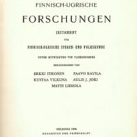 Finnisch-Ugrische Forschungen 37