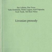 Livonian prosody (SUST 255)