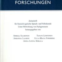 Finnisch-Ugrische Forschungen 61