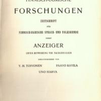Finnisch-Ugrische Forschungen 28
