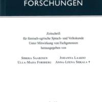 Finnisch-Ugrische Forschungen 63