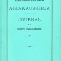 Suomalais-Ugrilaisen Seuran Aikakauskirja 77