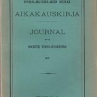 Suomalais-Ugrilaisen Seuran Aikakauskirja 51